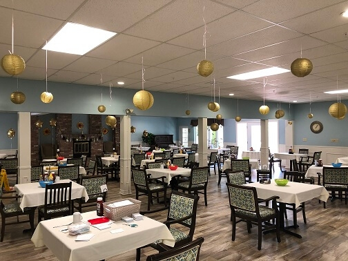La Chaumiere Retirement Residence - Gold Party
